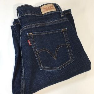 Levi's High Rise Jeans Perfectly Slimming 512 Boot